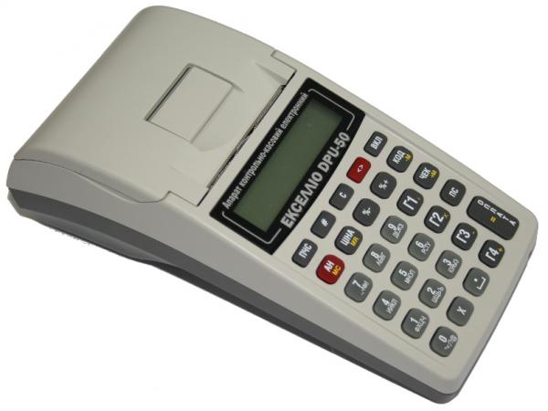Портативный кассовый аппарат Экселлио DP-05 (встроенный модем, КСЕФ) + подключим к Вашей 1С ! - 1